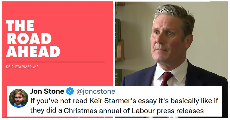 Keir Starmer wrote an enormous essay about his values and got panned