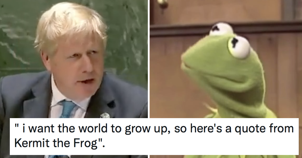 Boris Johnson's Kermit the Frog joke fell hilariously flat – 15 favourite responses