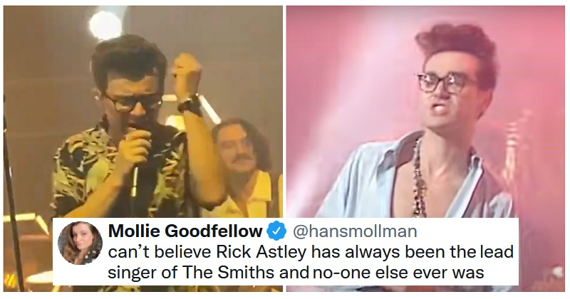 Rick Astley is the Morrissey substitute we really did know we needed - the poke