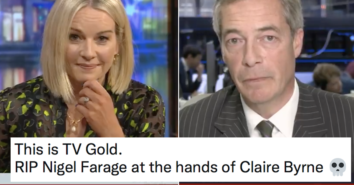 This glorious shutdown of Nigel Farage on Irish TV is a supremely satisfying watch