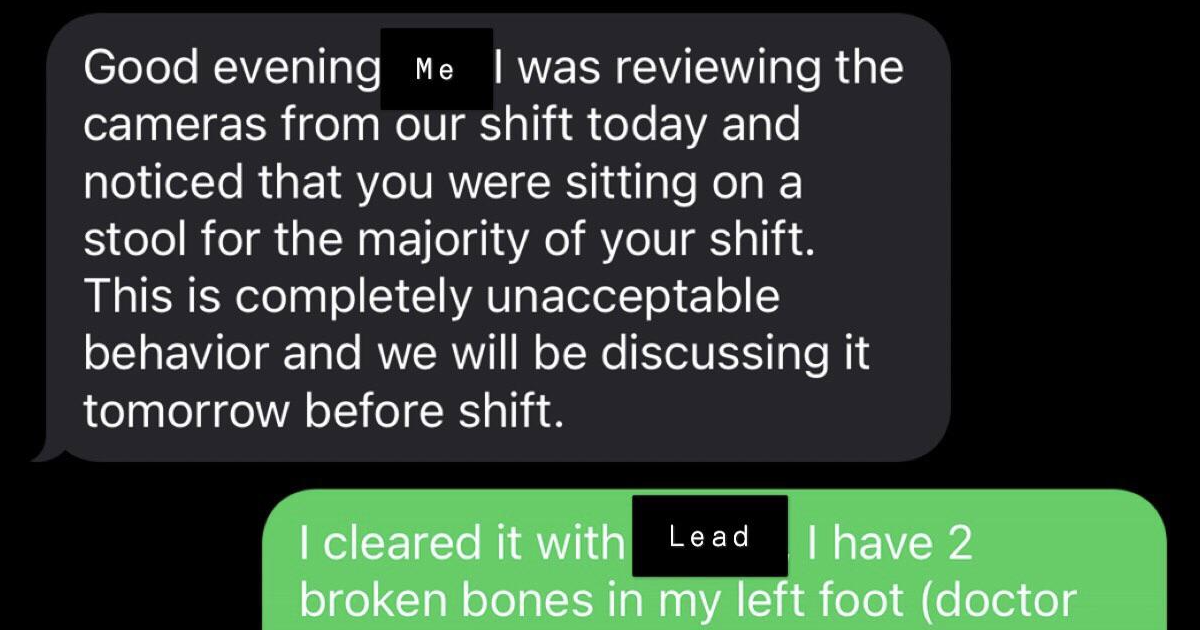 This guy's response to his boss's unfair criticism had everyone cheering - the poke