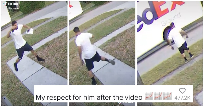 This Fedex delivery man deserves a huge tip for how he followed this instruction