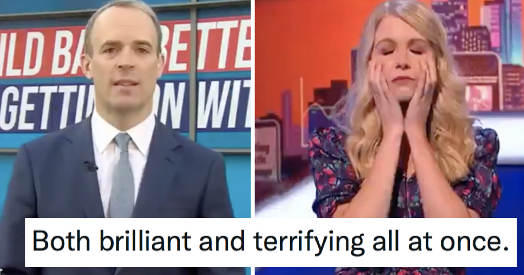 Rachel Parris explained misogyny for Dominic Raab and anyone else who needs it on Late Night Mash and it's outstanding - the poke