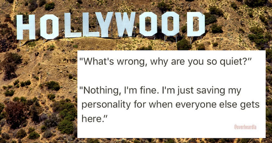 20 of the funniest exchanges from the 'Overheard in LA' Instagram account