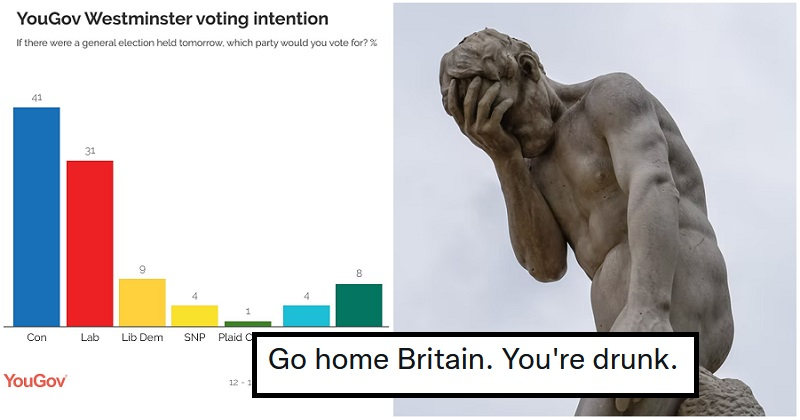 The Tories have opened up a 10-point lead in the polls – the only 6 opinions you need - the poke