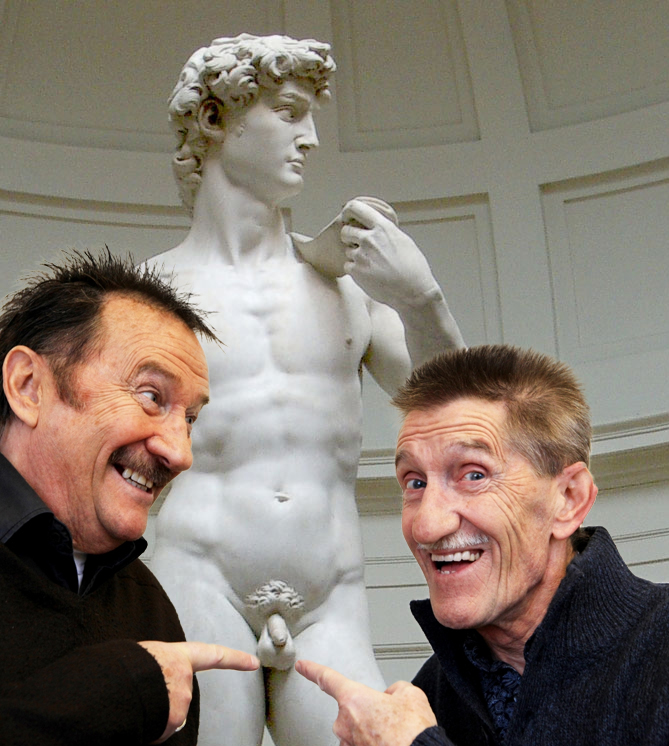Barry And Paul Soak Up The Rich Culture Of Florence The Poke